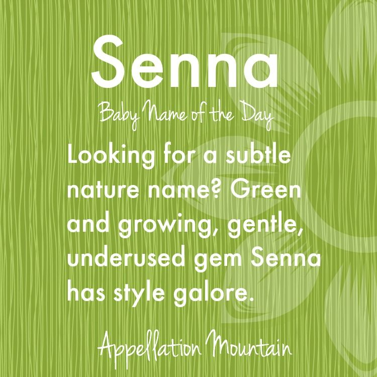 Our #BabyNameoftheDay is a subtle nature name with an on-trend sound.