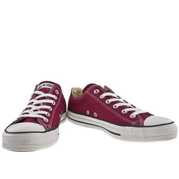 Burgundy All Star Lo, part of the Mens Converse Trainers range available at  schuh with FREE standard delivery*.
