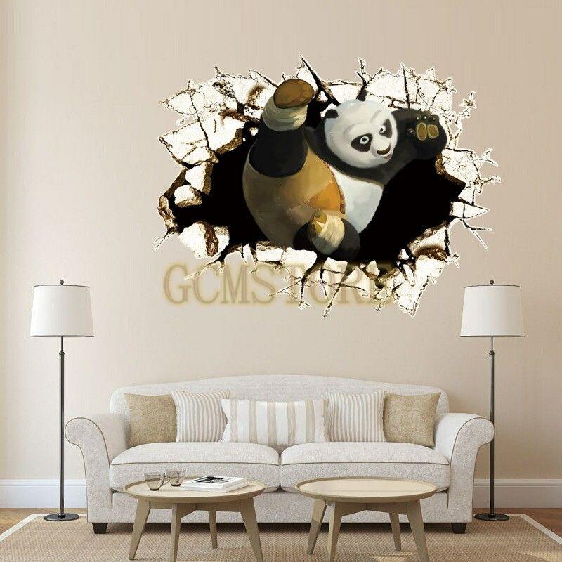 Panda 3D Kungfu Panda Through Wall Trinity