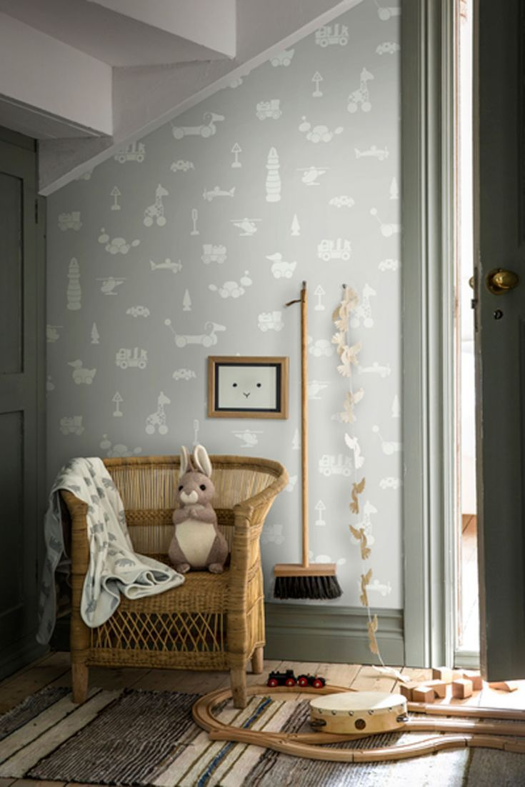 Brio Icons By Boråstapeter Pale Grey Wallpaper Wallp