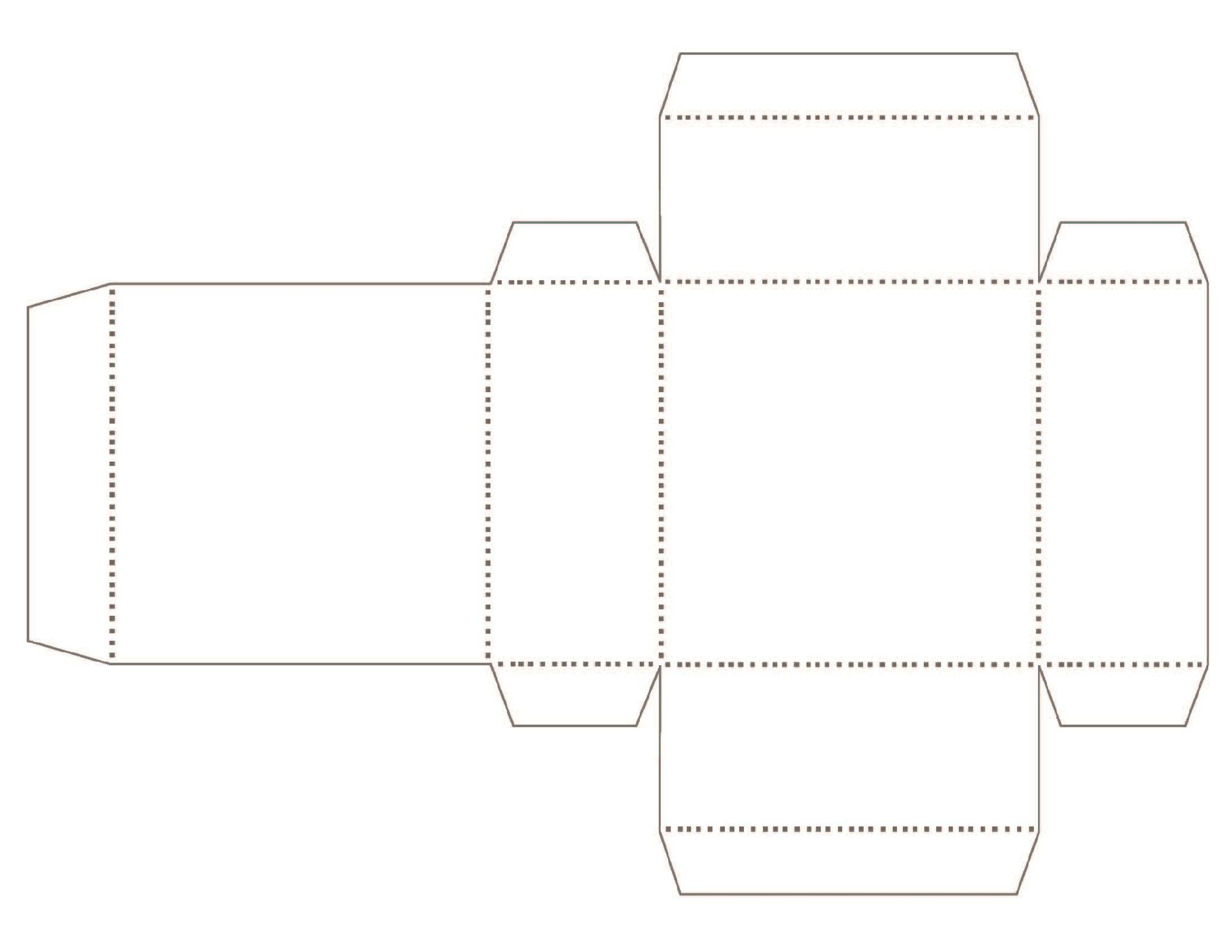 Printable Box Templates For Bags Or Ts