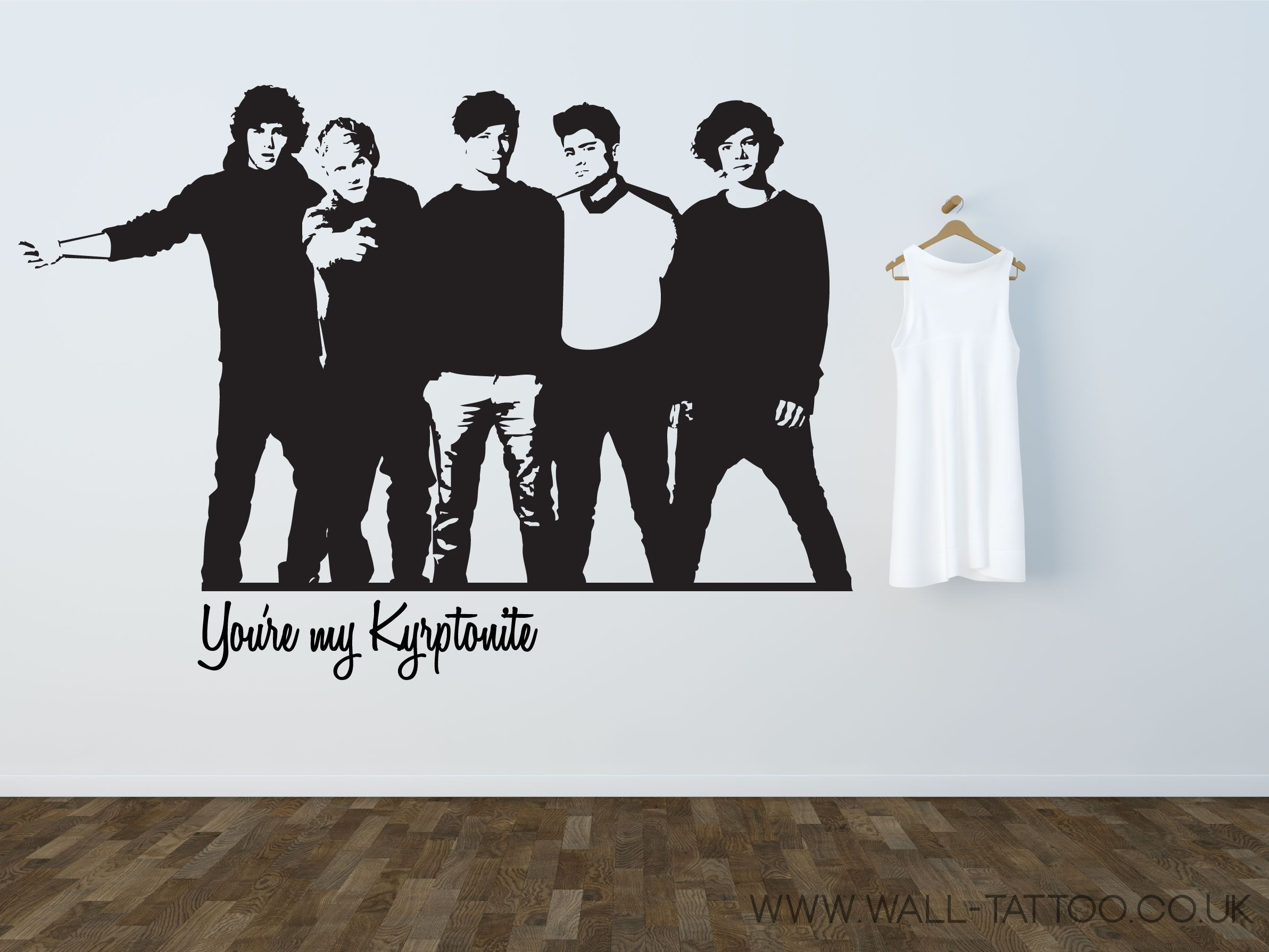 Wall Sticker · One Direction Sticker !