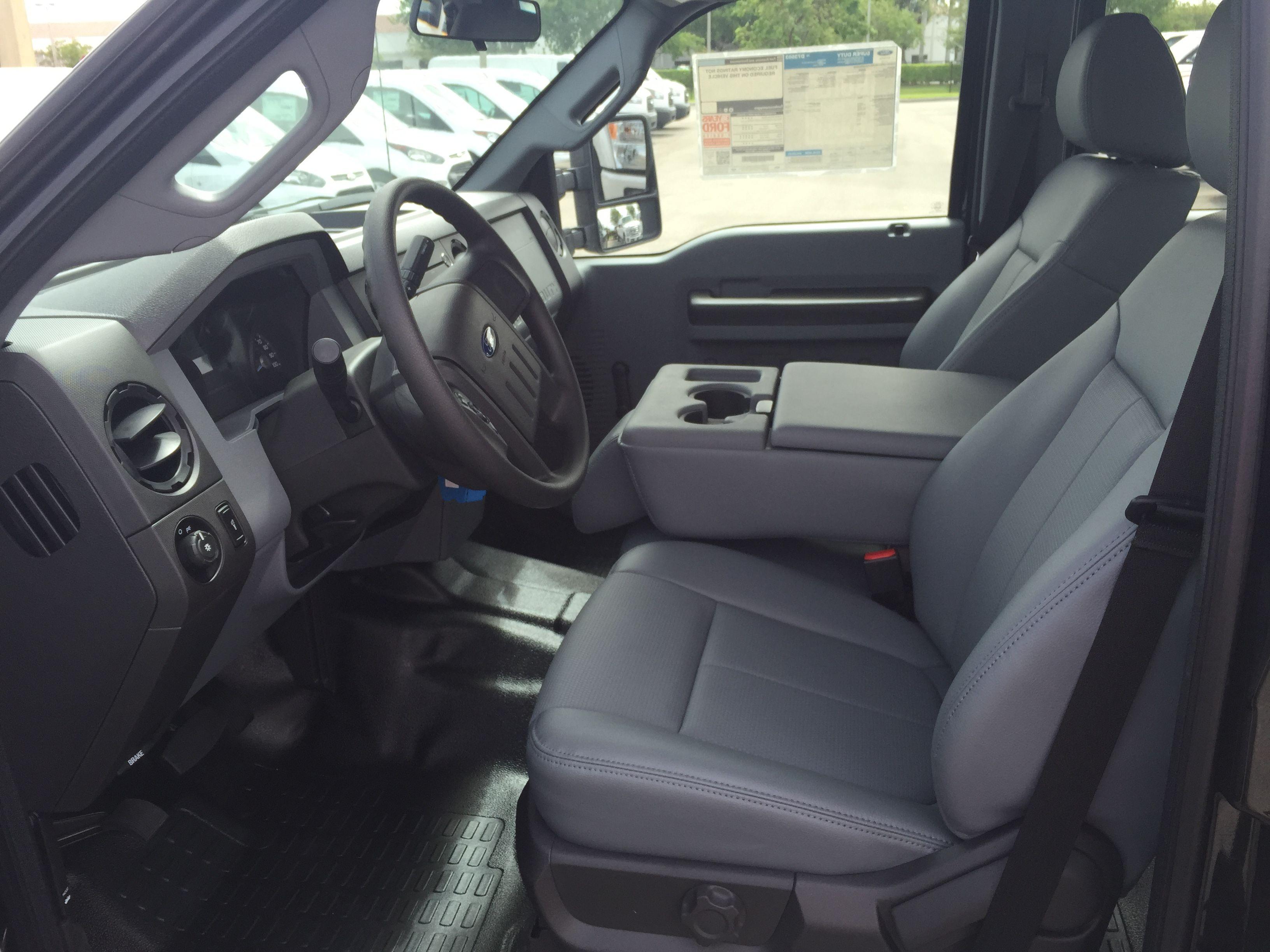 2015 Ford F-250 6.7L interior, base model. | Truck ...