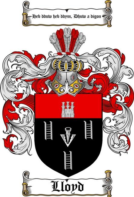 Lloyd Coat Of Arms Lloyd Family Crest Family Crest Coat Of Arms Family Shield