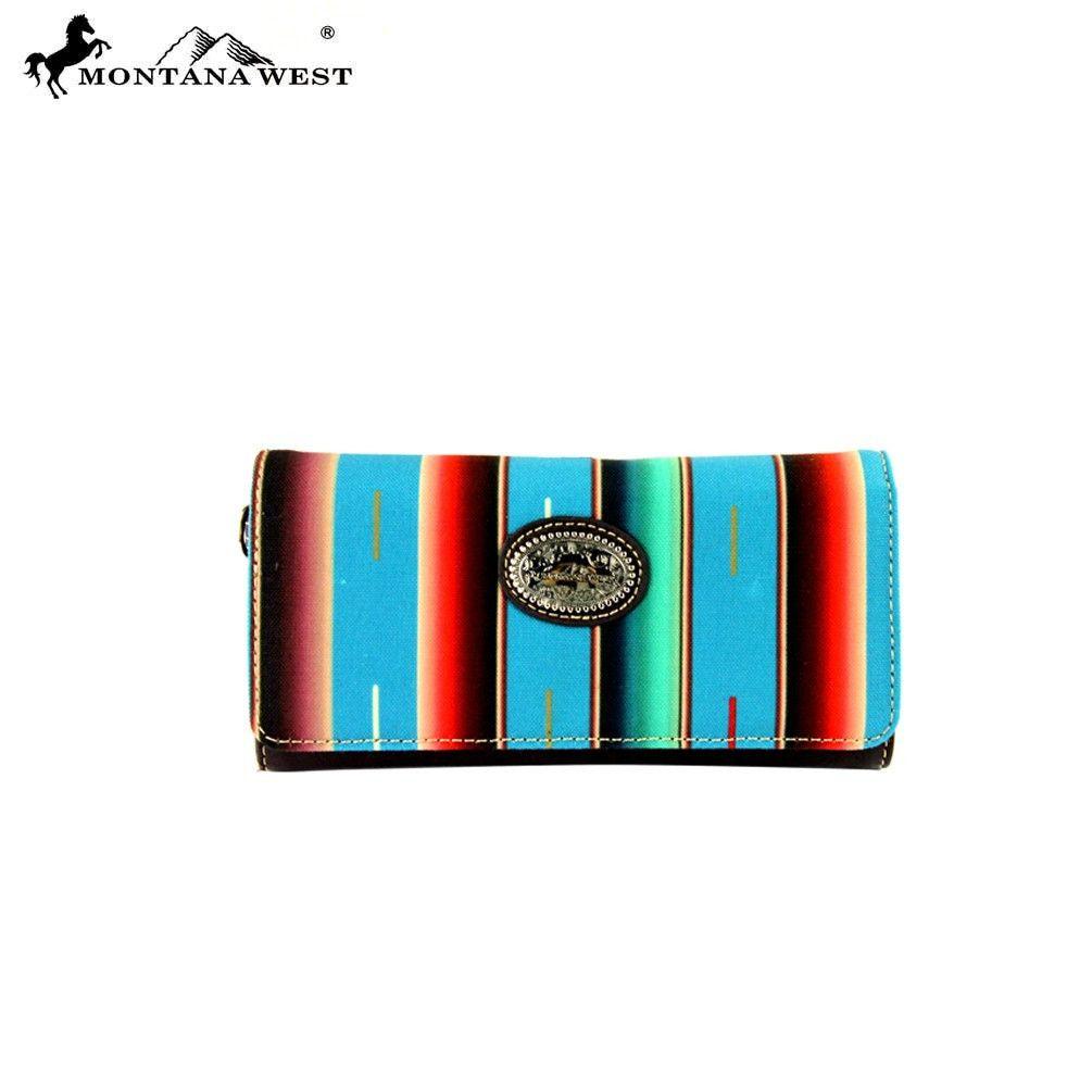 Montana West Serape Concealed Wristlet Wallet – Handbag-Addict.com