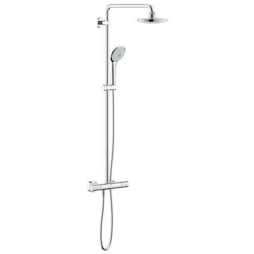 grohe euphoria colonne de douche system 180 avec mitigeur