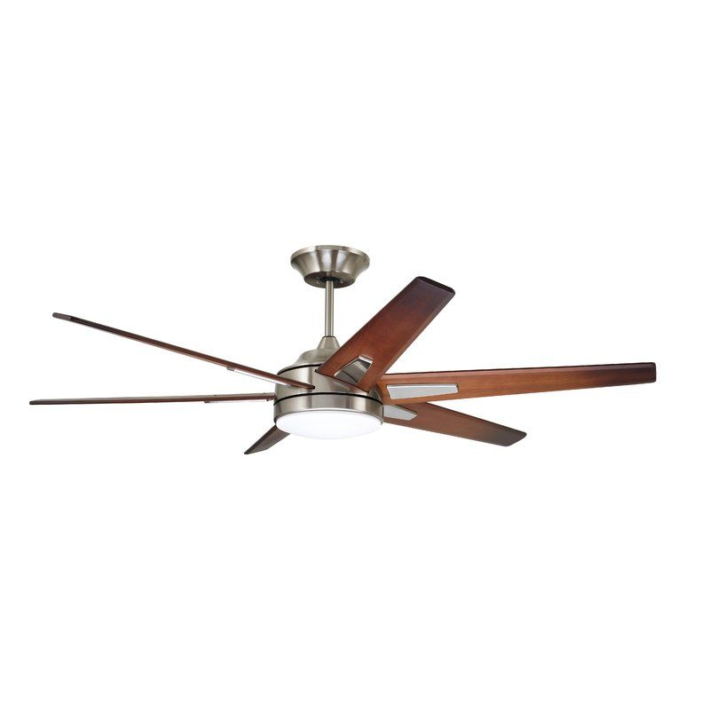 60 Durst 6 Blade Led Ceiling Fan Light Kit Included Ceiling