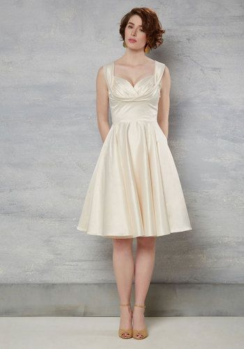Aisle Be There Dress in Ivory by Trashy Diva - Special Occasion ...