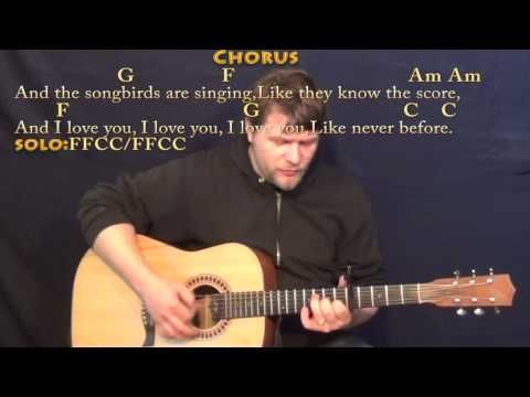 Songbird (Fleetwood Mac) Strum Guitar Cover Lesson with Chords ...