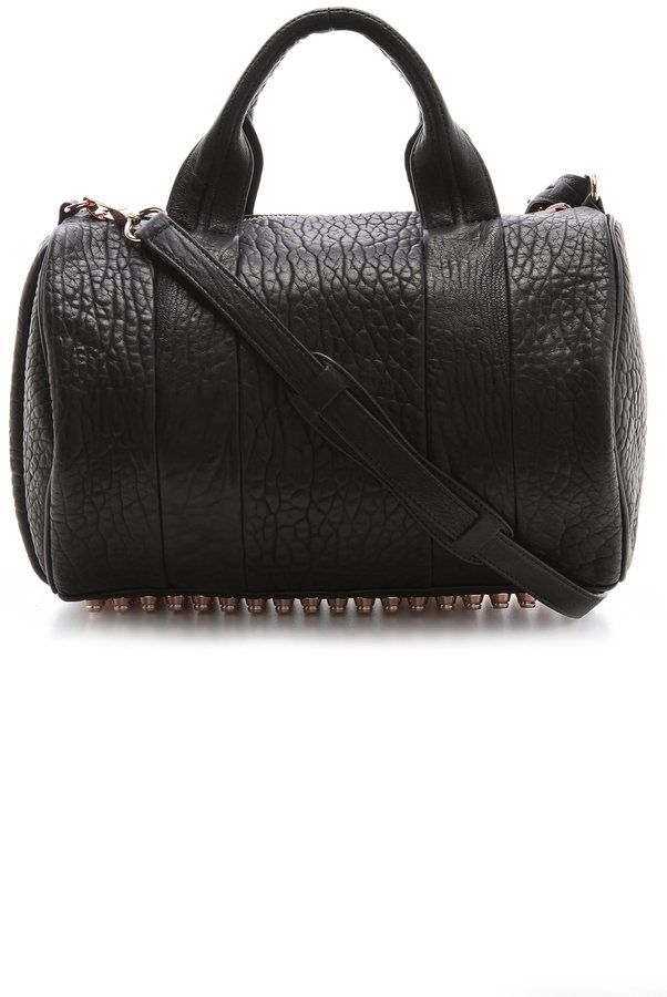 Pin for Later: Treat Yourself to a Designer Handbag With Your Christmas Money Alexander Wang Rocco Duffel with Rose Gold Hardware Alexander Wang Rocco Duffel with Rose Gold Hardware (£654)