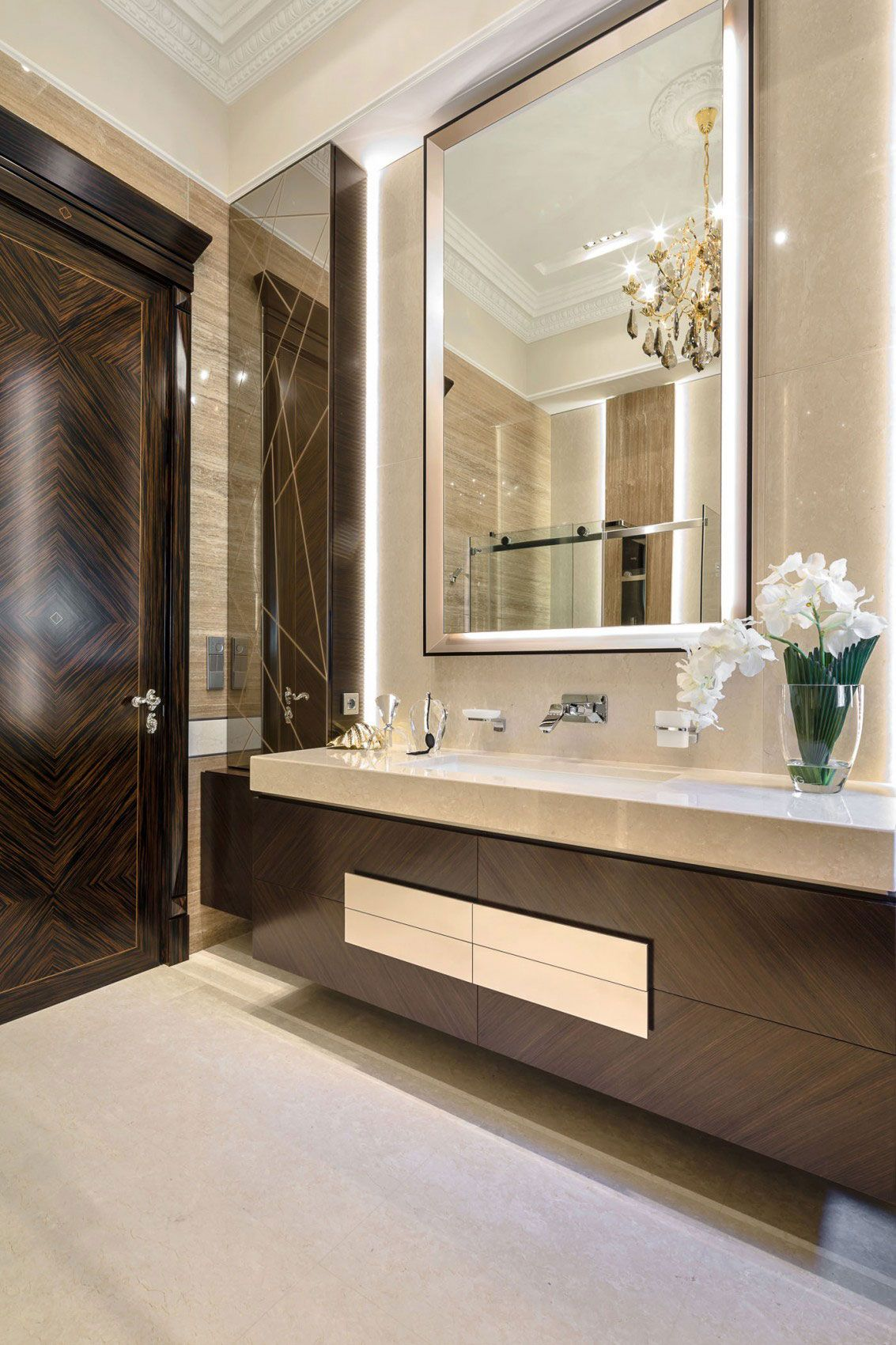 Chic Apartment Interior Design Created By NG