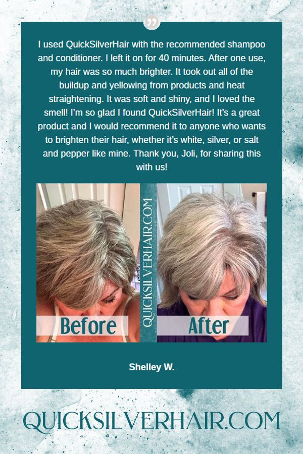 Reviews Before and After Pictures Grey hair treatment