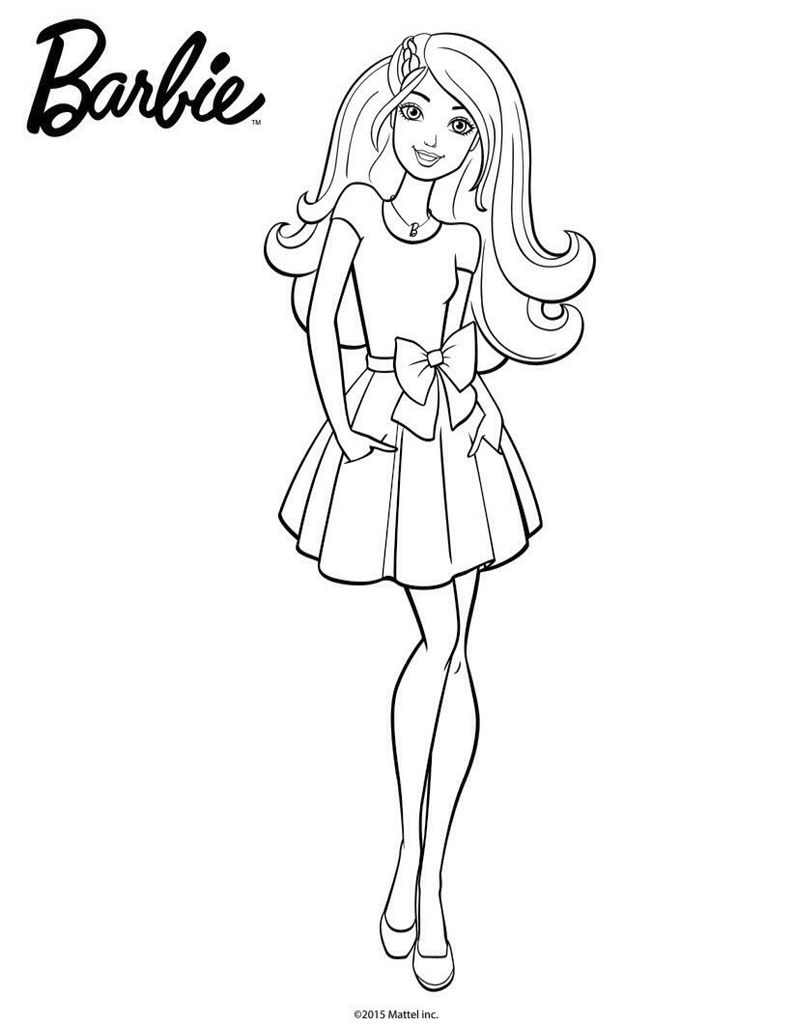 Pin By Desenhos Desenhos On Coloring Barbie Coloring Pages Barbie Coloring Barbie Drawing