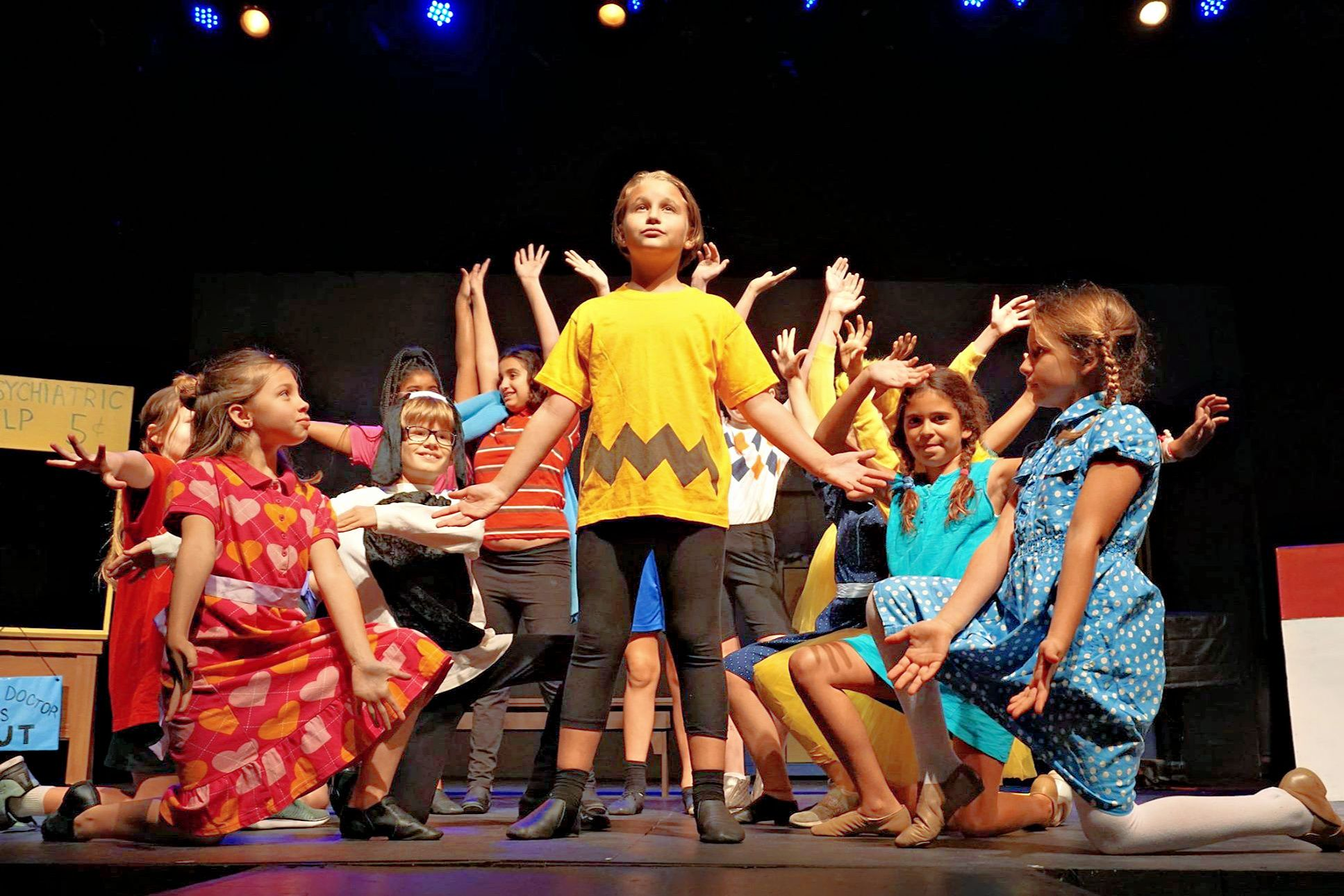 Musical theater and performing arts summer camps in la and