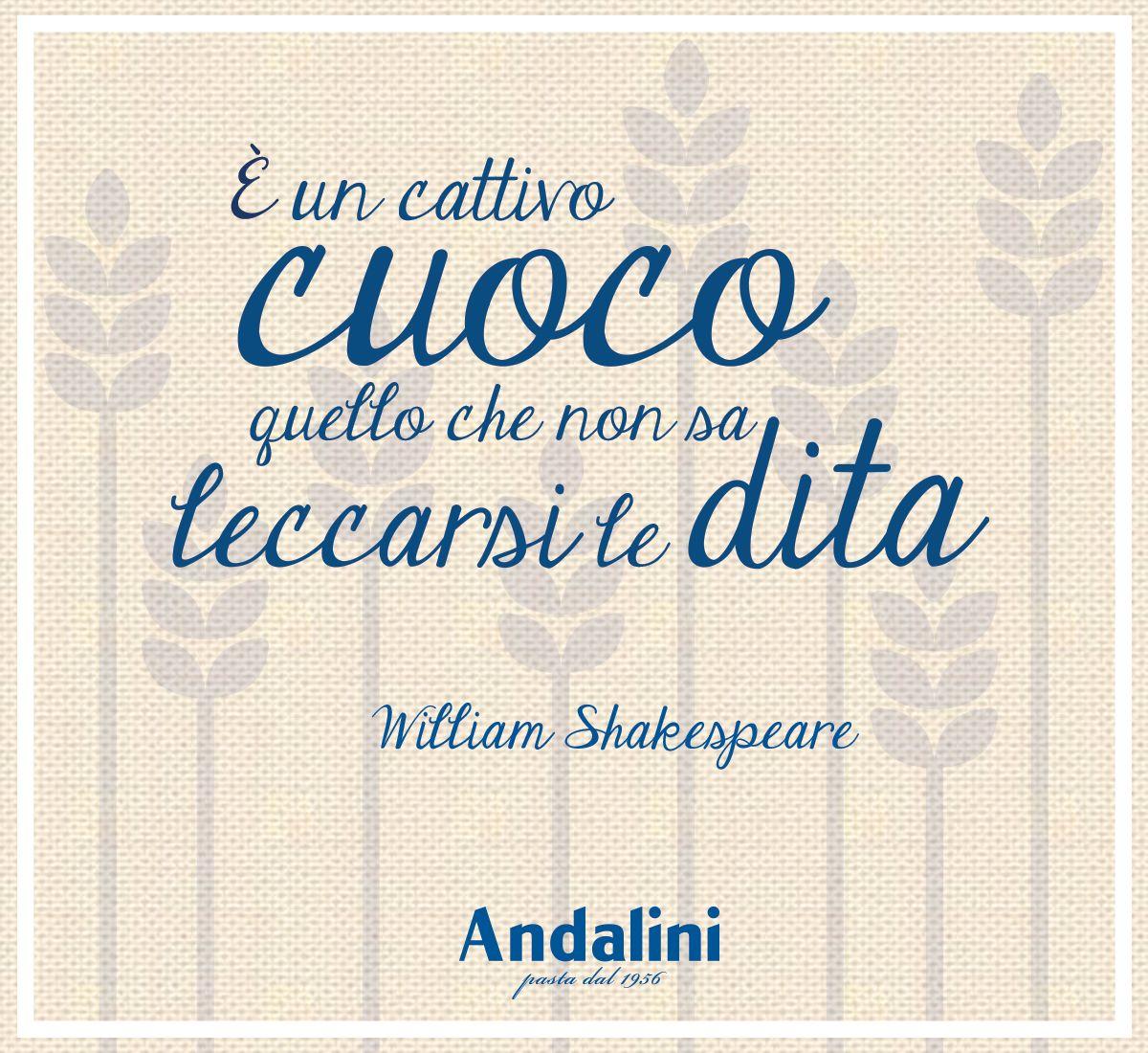 Buona domenica a tutti da Pastificio #Andalini! :-)  Voi cosa dite? Siete d'accordo con la nostra #citazione d'autore?  www.andalini.it