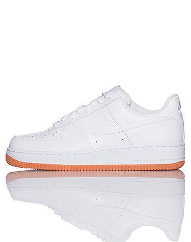 NIKE Air Force Ones Low top men's sneaker Lace up closure