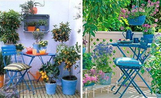 schoner Balkon Blumen Pflanzkasten blaue Farbe | Blau | Pinterest
