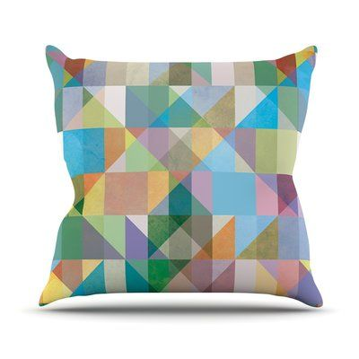 Kess Inhouse Graphic By Mareike Boehmer Rainbow Throw Pillow Size 26 H X 26 W X 5 D In 2020 Modern Throw Pillows Plush Throw Pillows