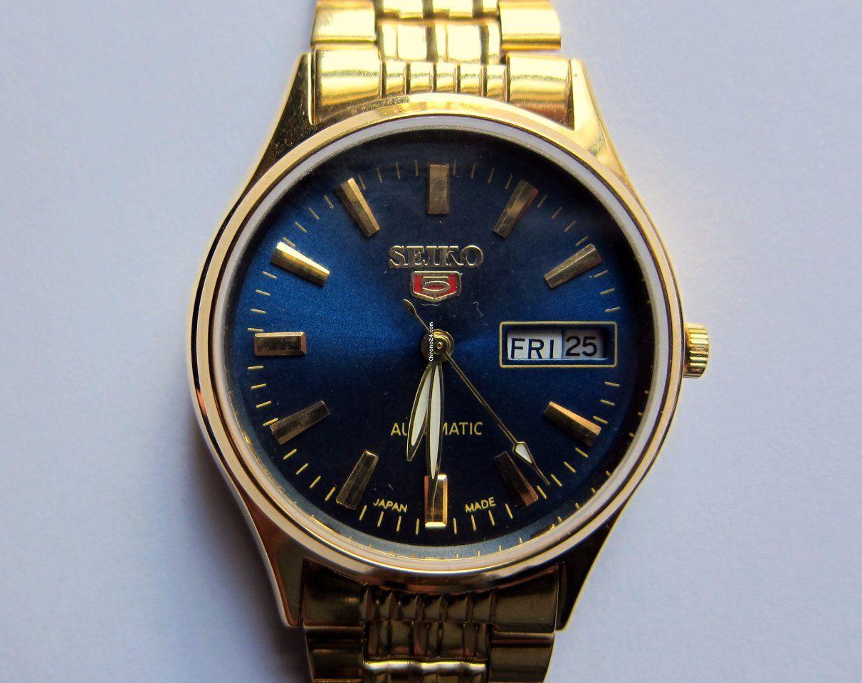 Seiko Reloj De Pulsera Seiko 5 Hecho En Japón Vintage 1976 1988 Für 97 Kaufen Von Einem Privatverkäufer Auf Chrono24 Seiko Uhren Neue Uhren Uhr