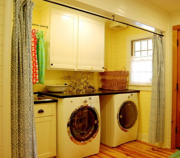 Laundry Room Curtains Ideas For Rustic Decor Decolover
