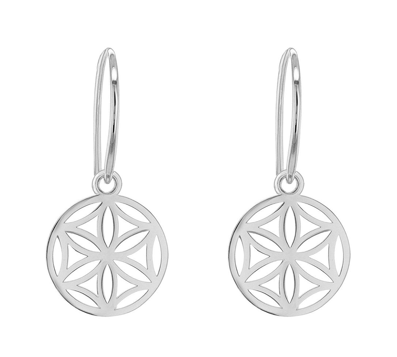 Tuscany Silver Sterling Silver Rhodium Plated Teardrop Earrings DhP1Uj