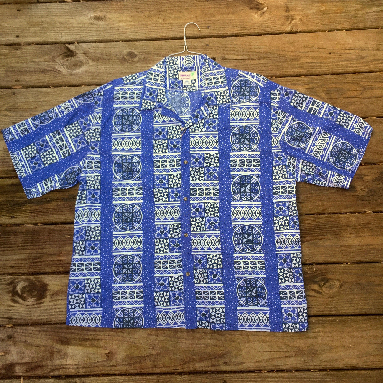 Breakwater Hawaiian Floral Tropical Aloha Camp Shirt Size XL