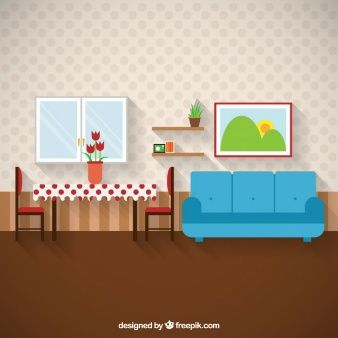 Download Minimalist Living Room With Tv For Free Anime Backgrounds Wallpapers Paper Doll House Art Corner