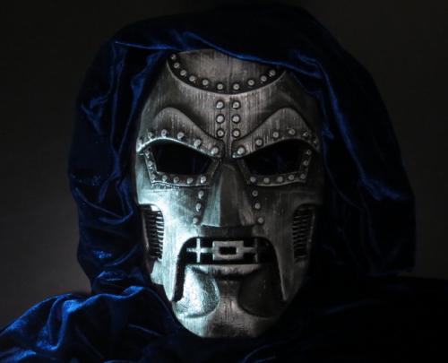 Doctor Doom Cosplay Mask Fibreglass Deathstroke Doom Best Cosplay