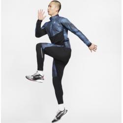 Photo of Nike Men's Half-Zip Running Top – Blue Nike