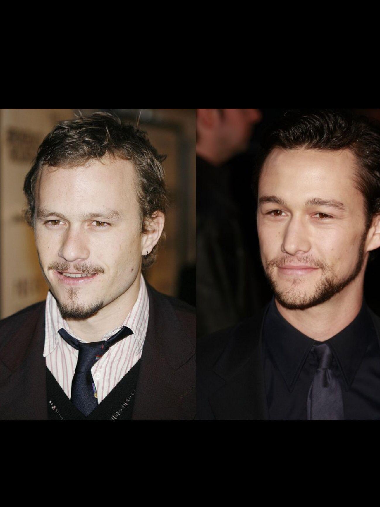 Heath Ledger Vs Joseph Gordon Celebrities Joseph Gordon Celebrity Look