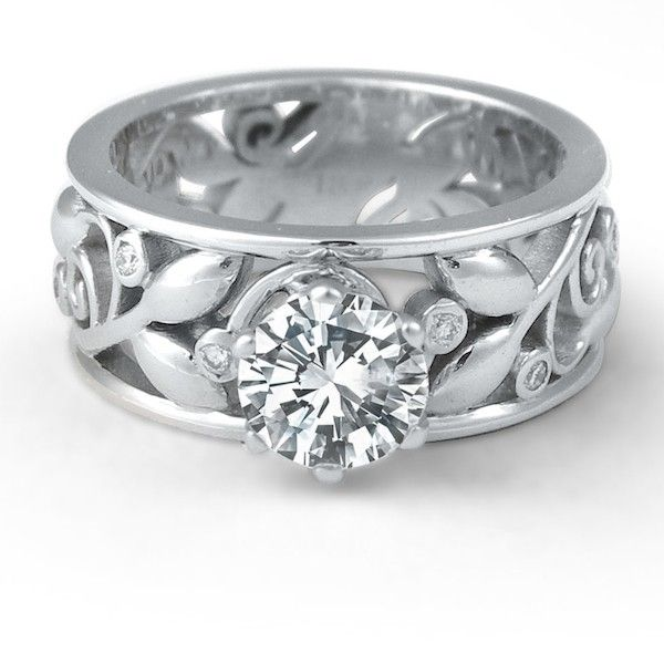 custom diamond rings Studio1098 Custom Diamond Engagement Rings