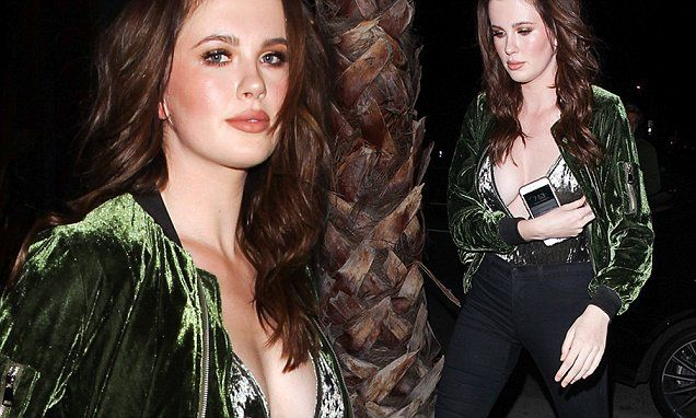 Ireland Baldwin poses TOPLESS as she goes nude for a good
