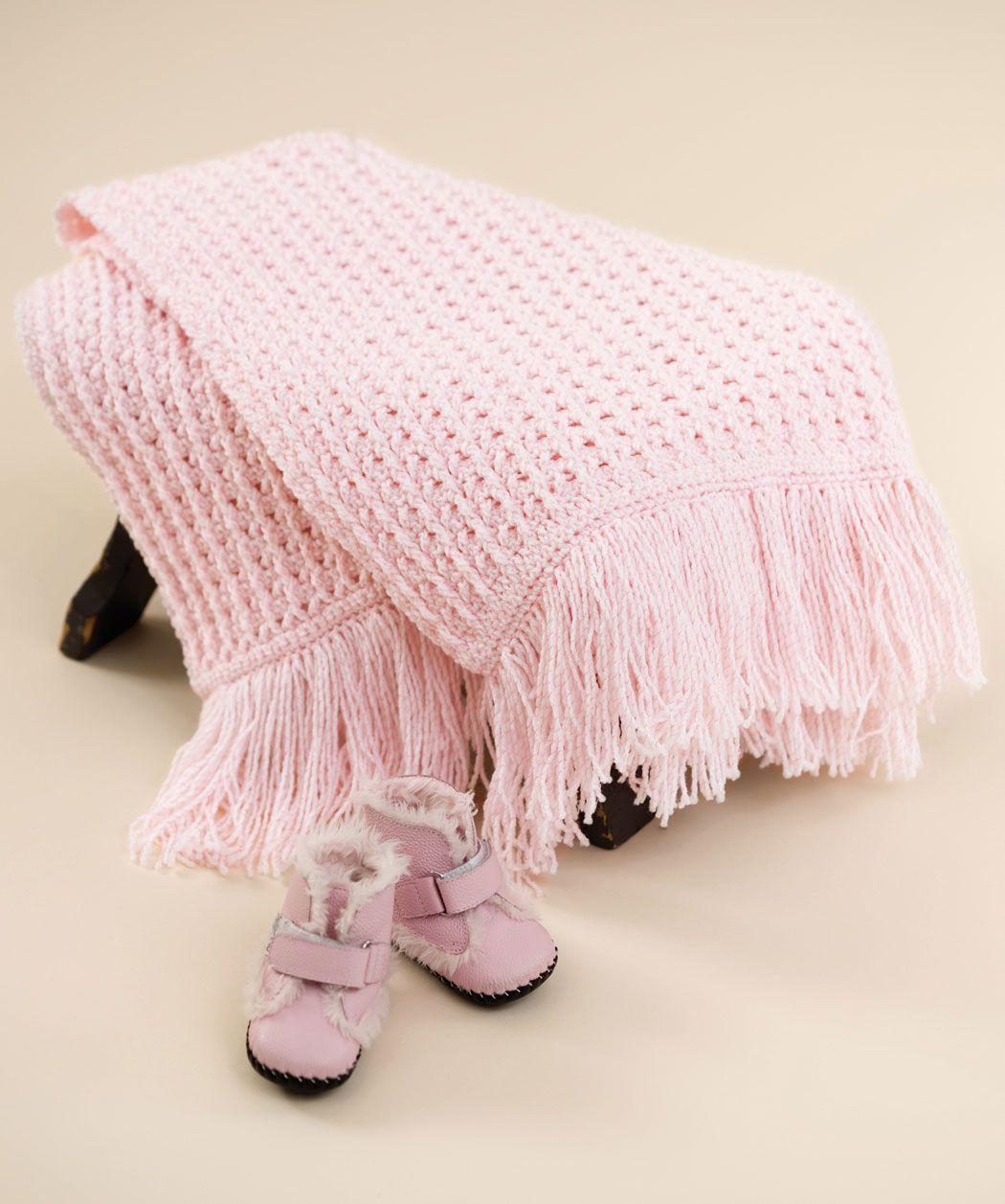 Crochet Sweet Baby Blankie | hækling | Pinterest | Cobija, Manta y ...