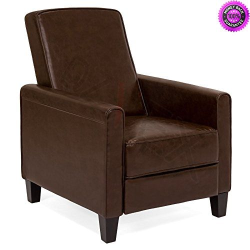 Admirable Dzvex Upholstered Leather Recliner Club Chair Brown And Gmtry Best Dining Table And Chair Ideas Images Gmtryco