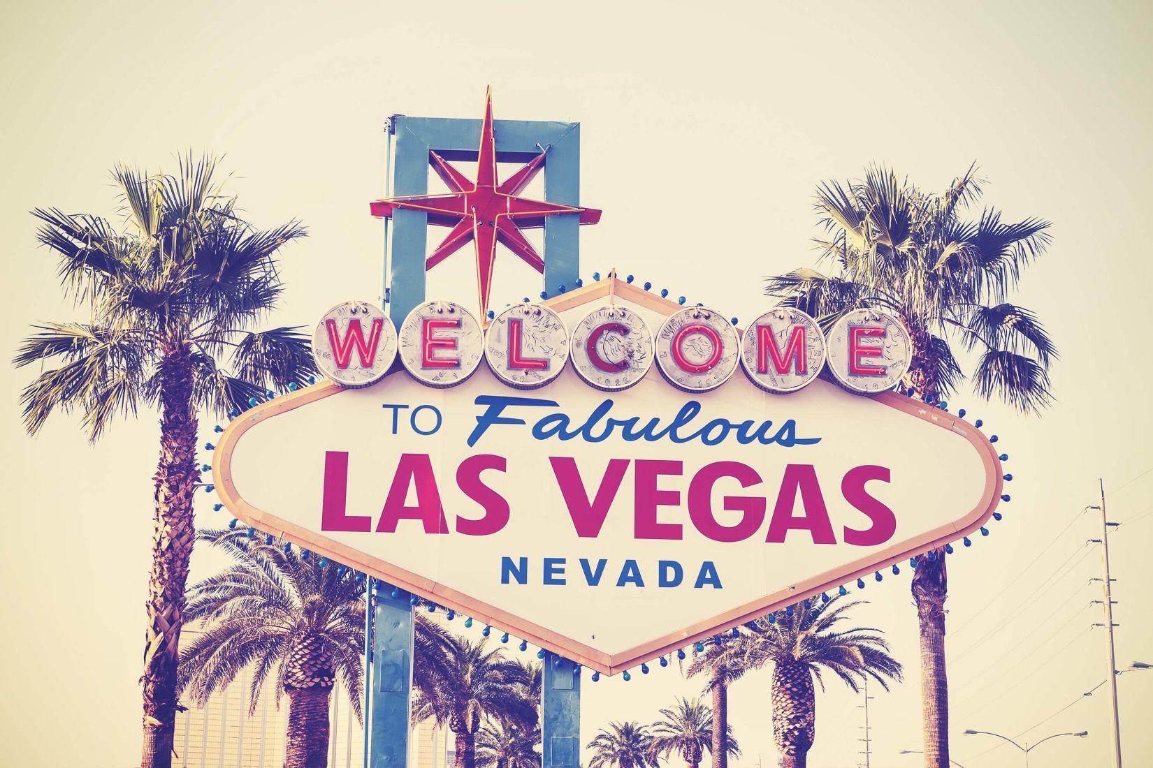 Las Vegas Sign Wallpaper Mural Hovia Las Vegas Painting Las Vegas Sign Vegas Sign