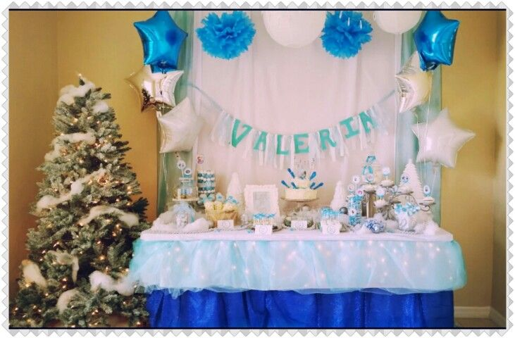 FROZEN Birthday Party Decoration Decorations Pinterest Frozen