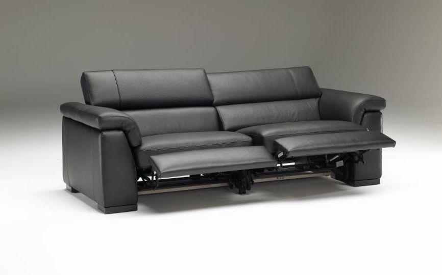 Natuzzi Editions Capri (B634) | Recliners | Reclining sofa, Leather ...