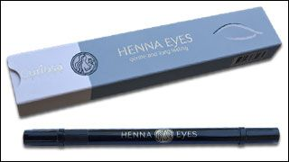 Semi-permanent eye-liner and other cosmetics 100 % natural