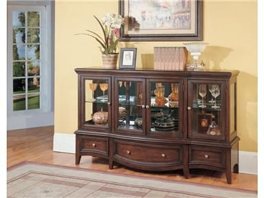 Shop for Parker House 2 pc Display Credenza Top and Base, GHIL-8500-2, and other Living Room Cabinets at Osmond Designs in Orem & Lehi, UT. Bring home the versatility you need with the addition of this cabinet.  The captivating design and attractive looks of this cabinet are a stunning combination that provides excellent storage and display options.
