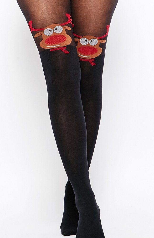 Collant Noel POPSUGAR UK | Collants motifs, Cadeau noel, Collant