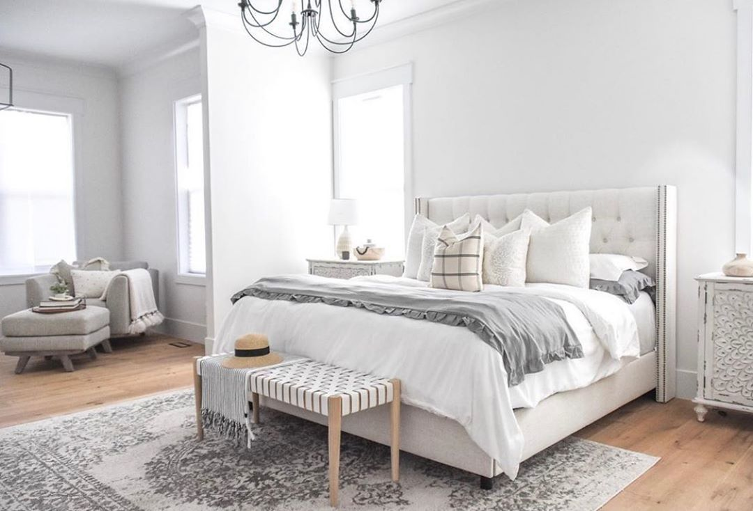 Rc Willey On Instagram The Dreamiest Bedroom Tap The Photo To Shop This Gorge White Bedding Master Bedroom Bedding Master Bedroom Beautiful Bedrooms Master