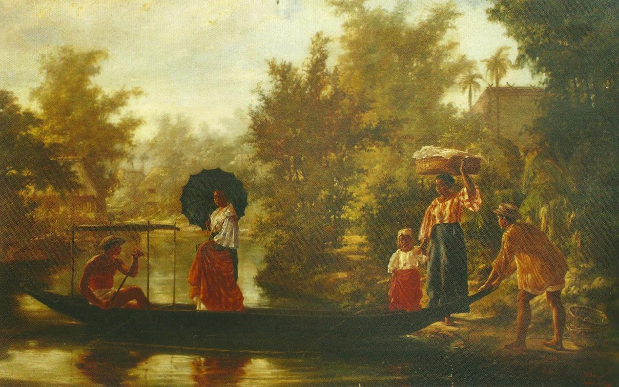 pupuplatter Felix Hidalgo Filipino art, Philippine art