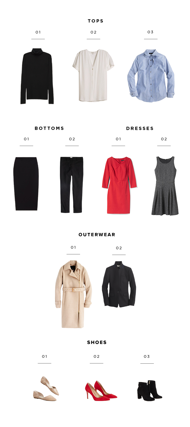 wardrobe will essentials to the that winter mountain from take you office