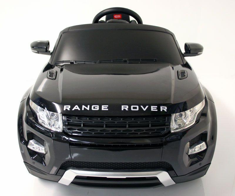Kids Electric Car Range Rover Evoque 12v Black