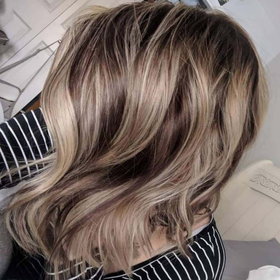 Dark Blonde Highlights With Platinum Balayage 2019 Dark Blonde Highlights Dark Blonde Hair