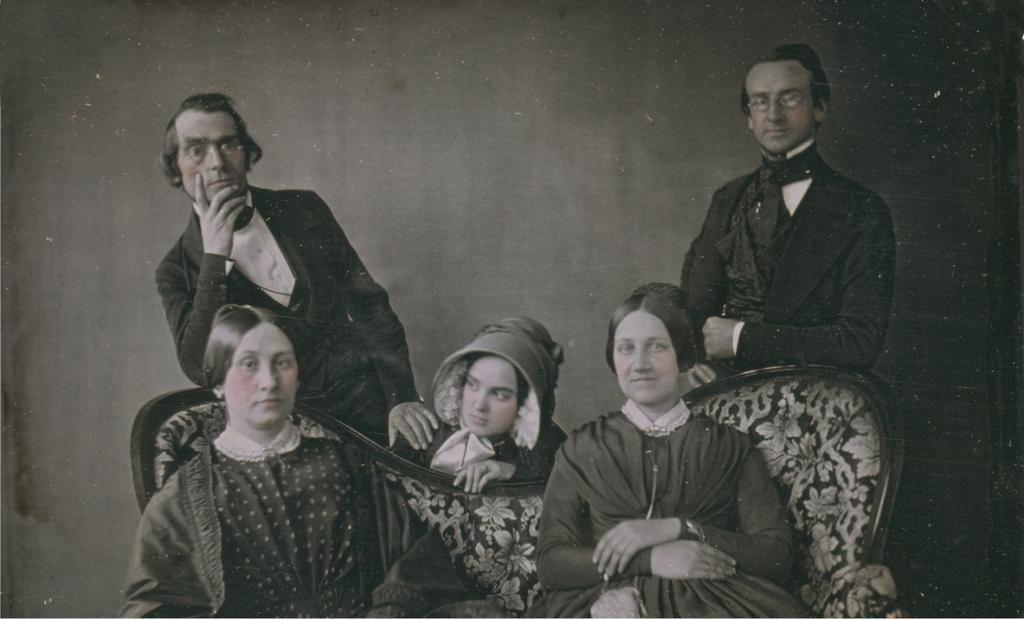 Family portrait, Civil War era