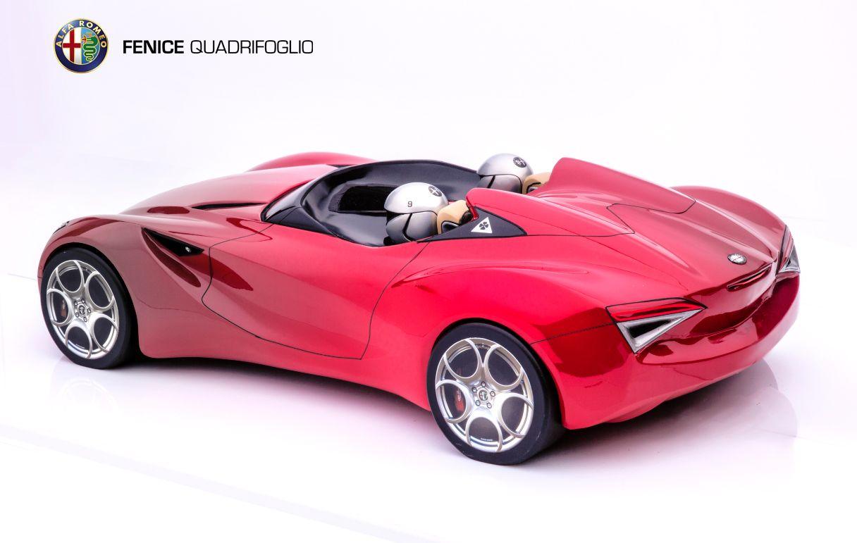 Alfa Romeo Fenice. ACCD Exteriors 4 class by Ivan Palacios