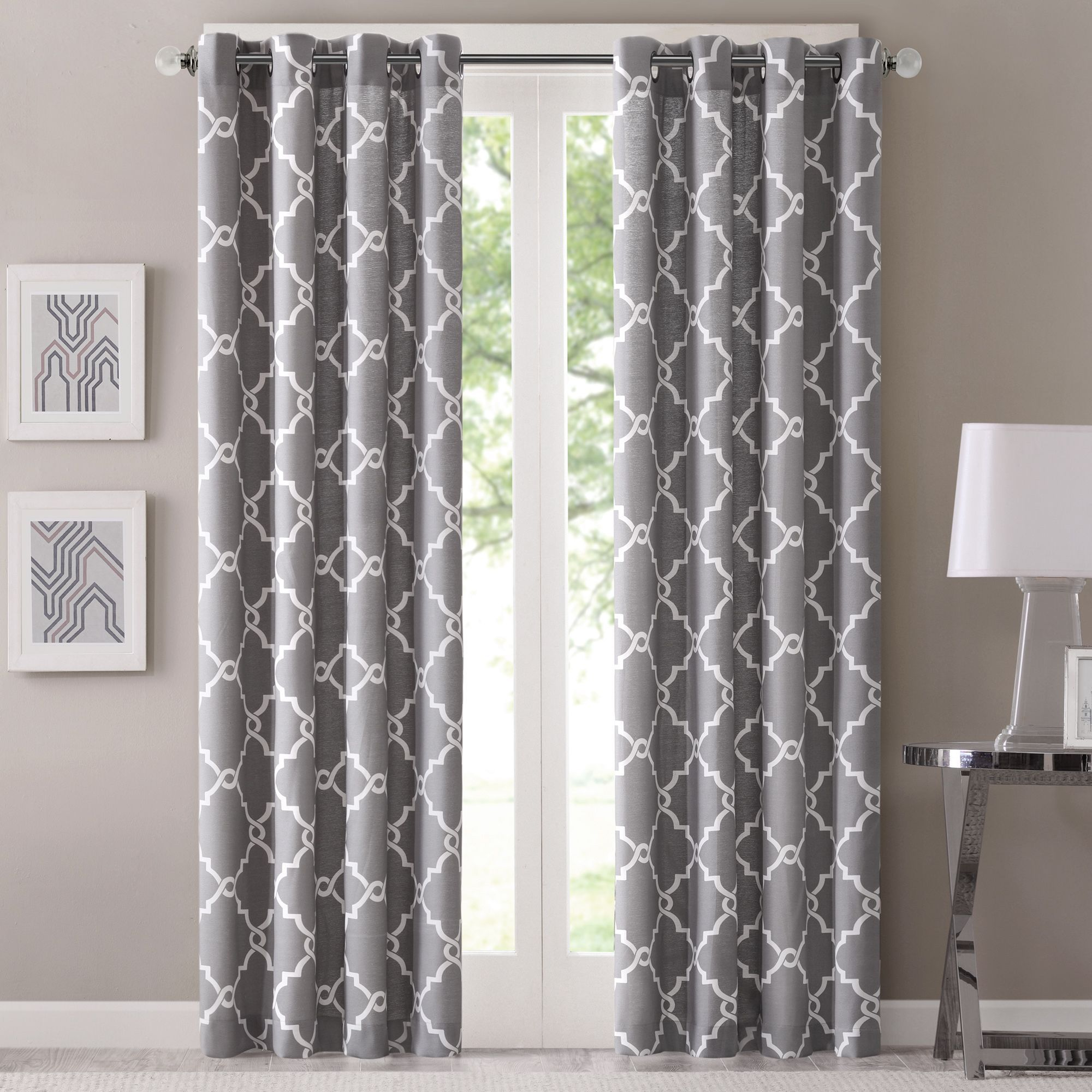 Refresh Your Room With The Decorative Fretwork Window Panel Scroll Geometric Print Is Simple