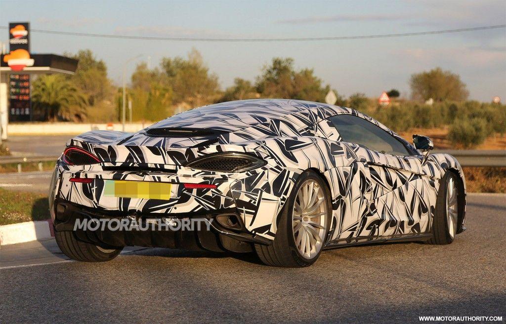 McLaren Sports Series GT Spy Shots