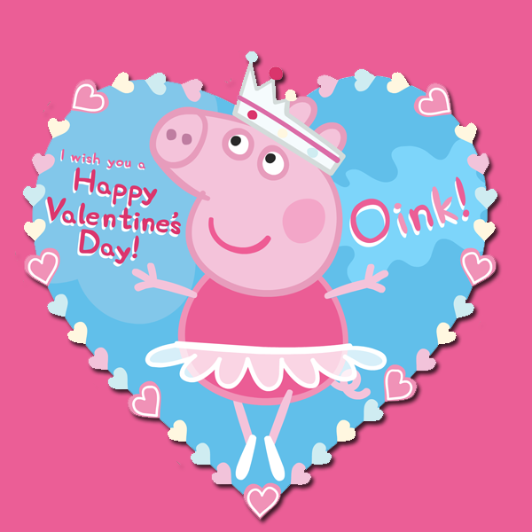 Delightful Your Loved Ones Will Squeal Over These Peppa Pig Valentines!